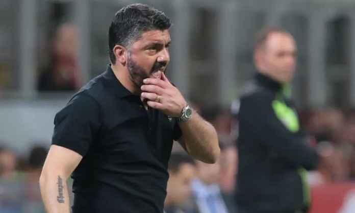 Sampdoria Bidik Gennaro Gattuso Gantikan Giampaolo