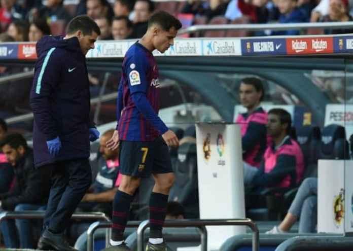 Coutinho Cedera Jelang Barcelona Lakoni Final Copa del Rey