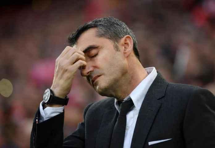 Barcelona Gantung Nasib Ernesto Valverde