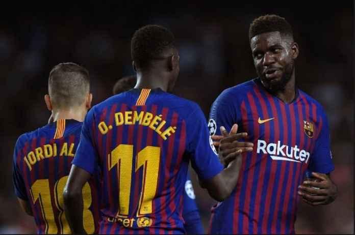 Samuel Umtiti Tolak Tawaran Juventus Demi Barcelona