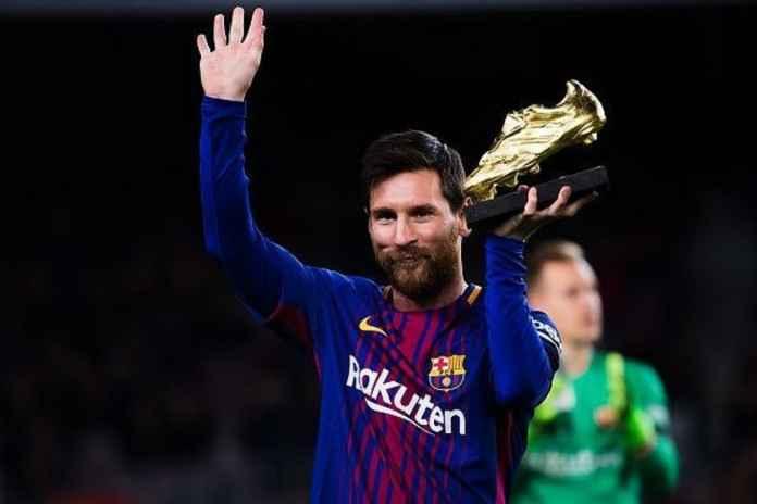 Lionel Messi Rebut Lima Penghargaan Bersama Barcelona Musim Ini