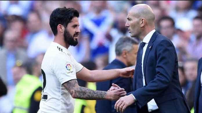 Zidane Ingin Isco Bertahan di Real Madrid
