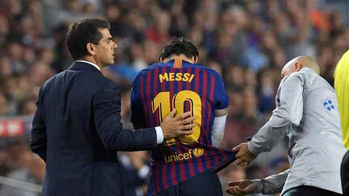 Lionel Messi bantah akan tinggalkan Barcelona