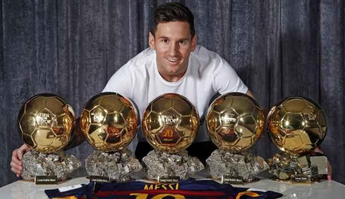Lionel Messi dan koleksi trofinya