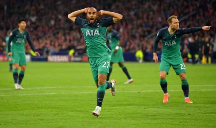 Lucas Moura, Ajax AMsterdam vs Tottenham Hotspur