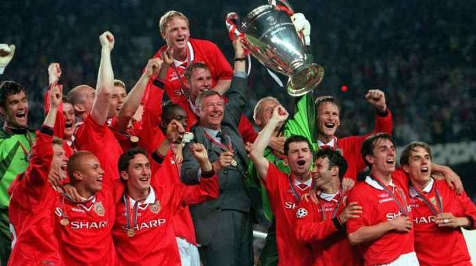 Manchester United vs Bayern Munchen di Final Liga Champions 1999