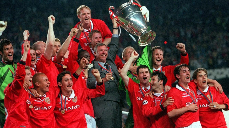 Manchester United Vs Bayern Munchen Laga Fenomenal 1999
