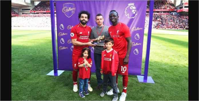 Berkah Ramadhan, Mane dan Mohamed Salah Berbagi Sepatu Emas