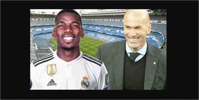 Paul Pogba Bukan Prioritas Transfer Real Madrid