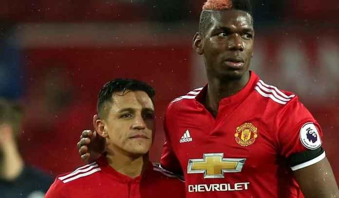 Paul Pogba dan Alexis Sanchez, Manchester United