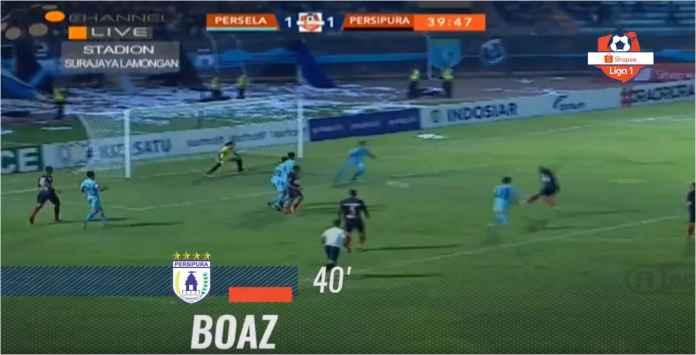 Hasil Persela Lamongan vs Persipura Jayapura 2-2, Papua Gagalkan Papua