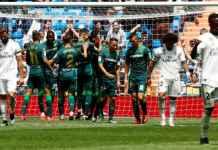 Real Madrid saat dibantai Real Betis di laga terakhirnya