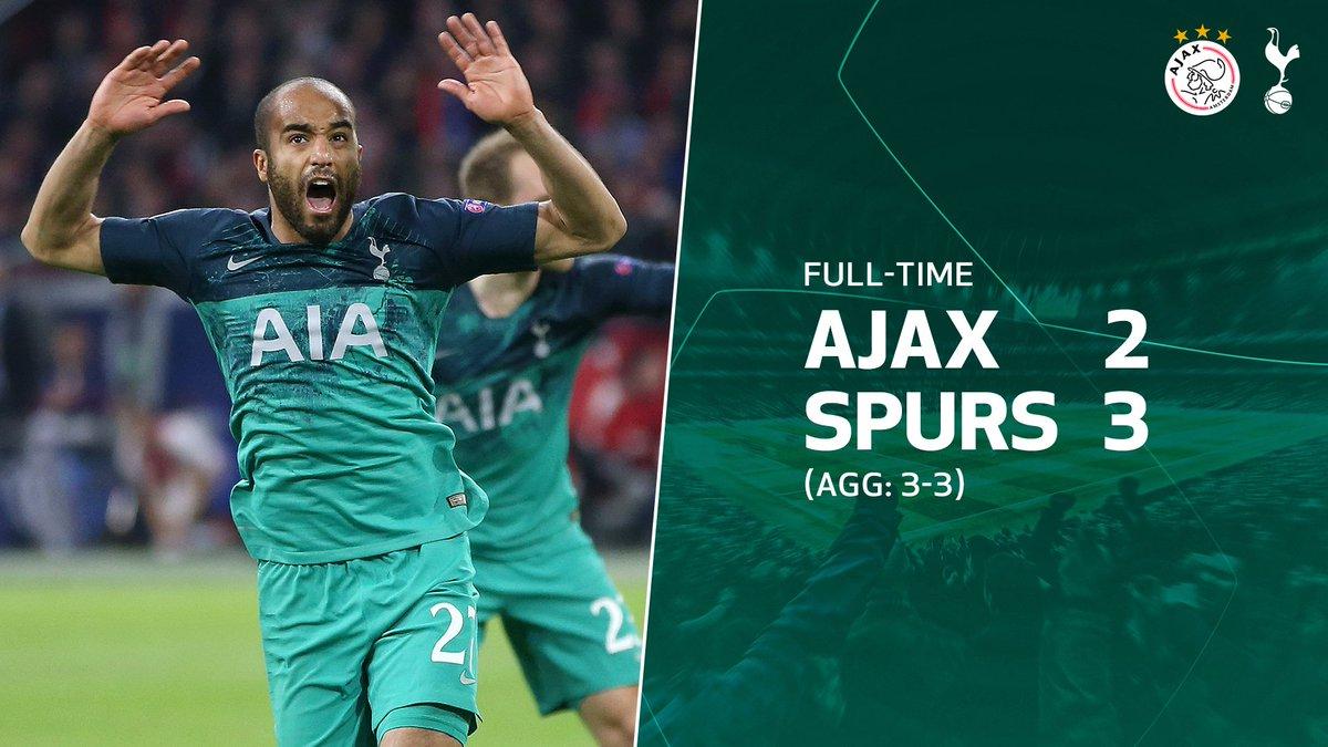 SKor Akhir Ajax Amsterdam vs Tottenham Hotspur