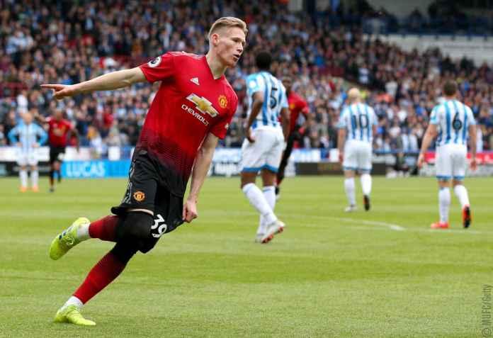Scott McTominay cetak gol pertama di laga Huddersfield vs Manchester United