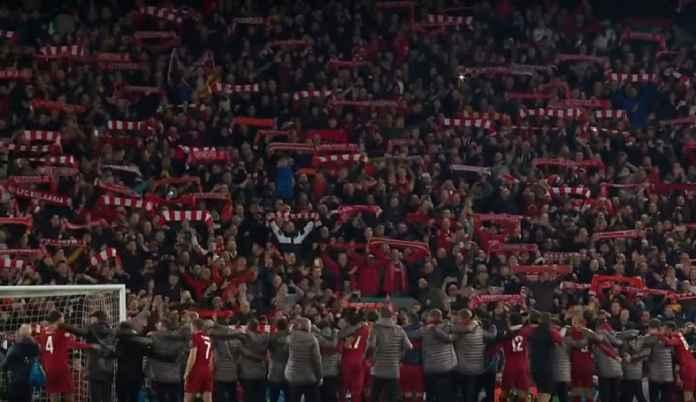 Stadion Anfield, Liverpool vs Barcelona