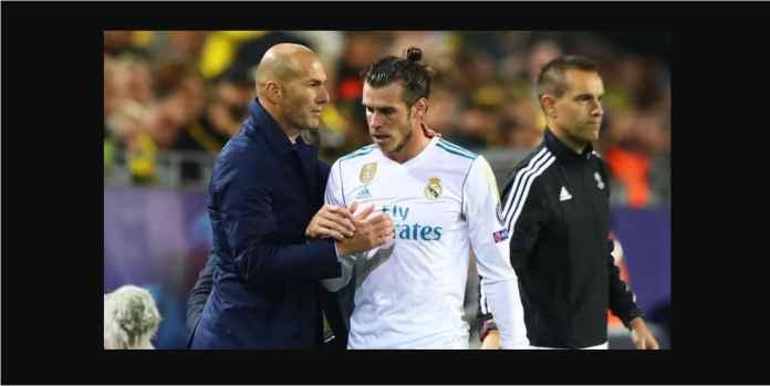 Kekejaman Zidane Pada Gareth Bale Terlihat Pada 45 Menit Babak Kedua