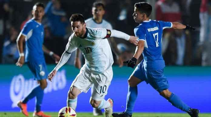 Argentina Libas Nikaragua 5-1, Lionel Messi Dua Gol