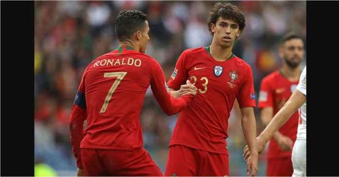 Joao Felix Terlihat Gugup Main Bareng Cristiano Ronaldo
