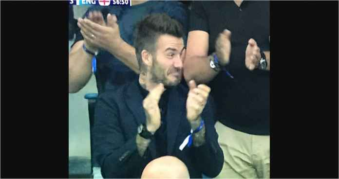 Lihat Gol Inggris yang Bikin David Beckham Terpesona