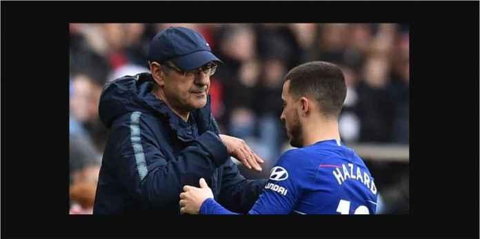 Eden Hazard Jadi Kambing Hitam Kegagalan Maurizio Sarri di Chelsea