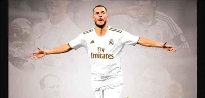 Eden Hazard Resmi Pemain Real Madrid, Kontrak Sampai 2024