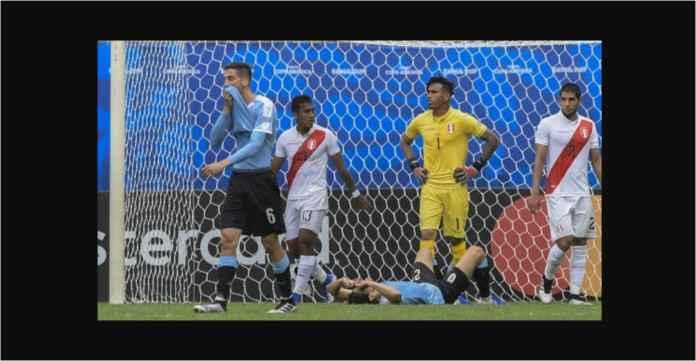 Hasil Uruguay vs Peru 0-0 Tiga Gol DIanulir Adu Penalti 4-5