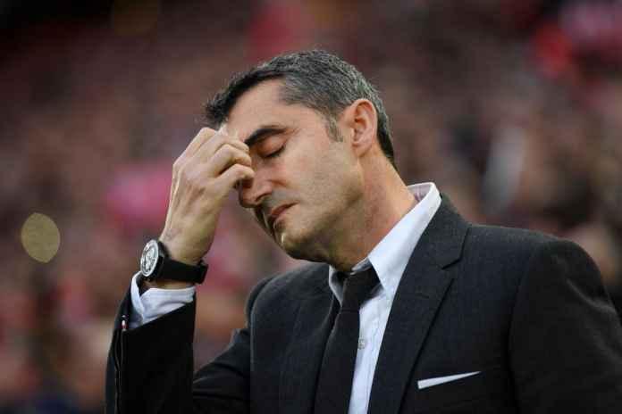 Ernesto Valverde manajer Barcelona