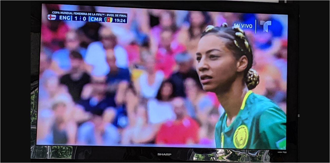 Perkenalkan Estelle Johnson, Singa Paling Cantik di Piala Dunia Wanita