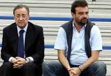 Florentino Perez dan Jose Angel Sanchez, Real Madrid ingin tuntaskan transfer Eden Hazard dengan Chelsea