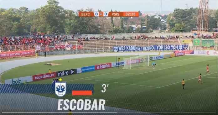 Gol Cepat Menit Ketiga Bawa PSIS Semarang Menang