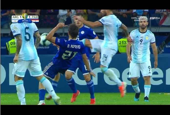 Hasil Argentina vs Paraguay Skor 1-1, Lionel Messi Kedodoran!