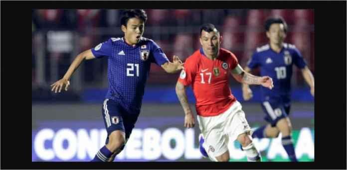 Pemain-pemain Muda Jepang Kalah Jauh dari Chile