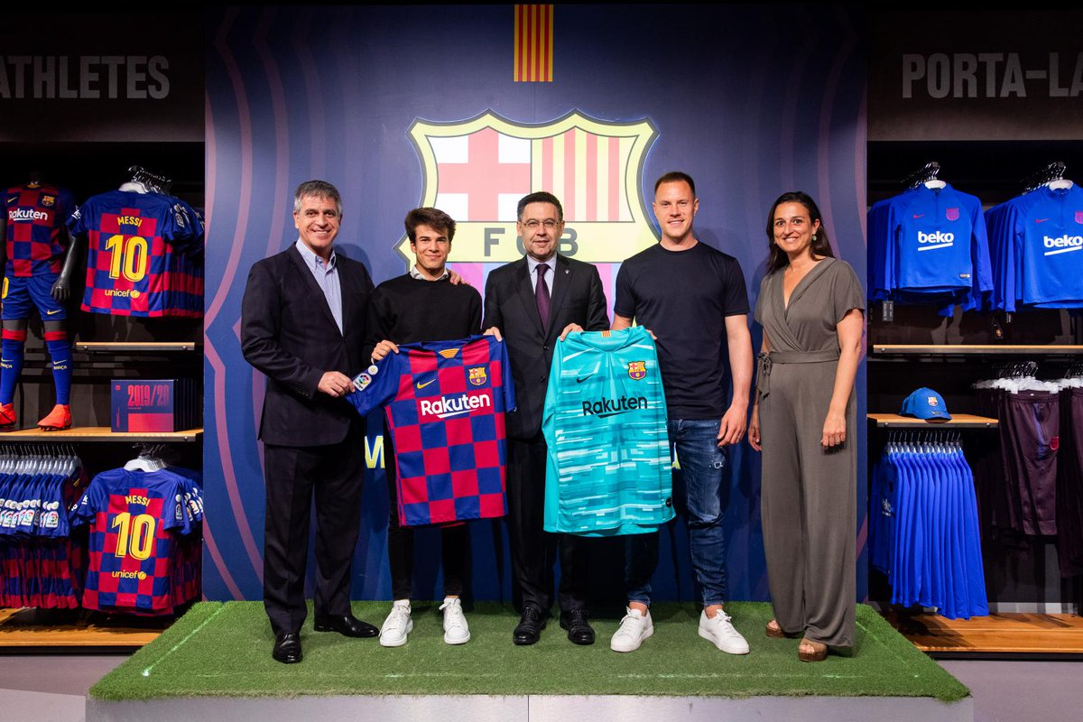 Jersey Terbaru Barcelona 2019-2020 3