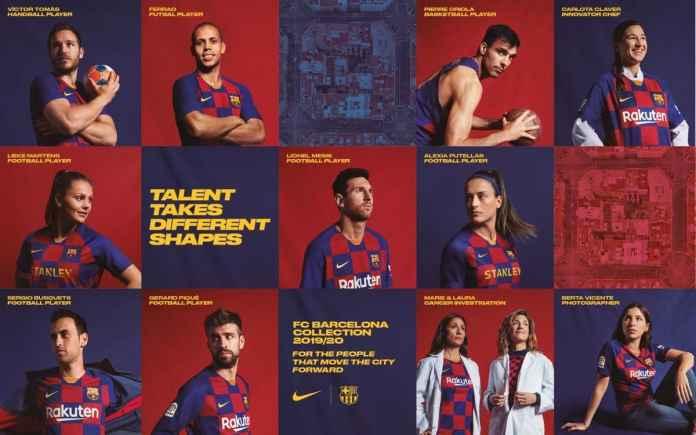 Jersey Terbaru Barcelona 2019-2020