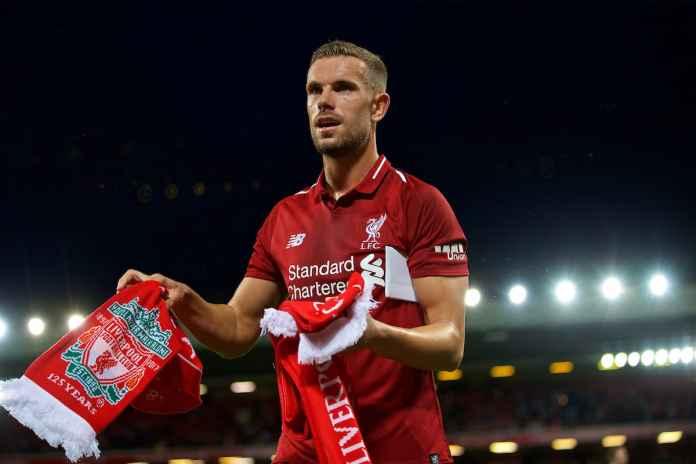 Jordan Henderson pemain Liverpool