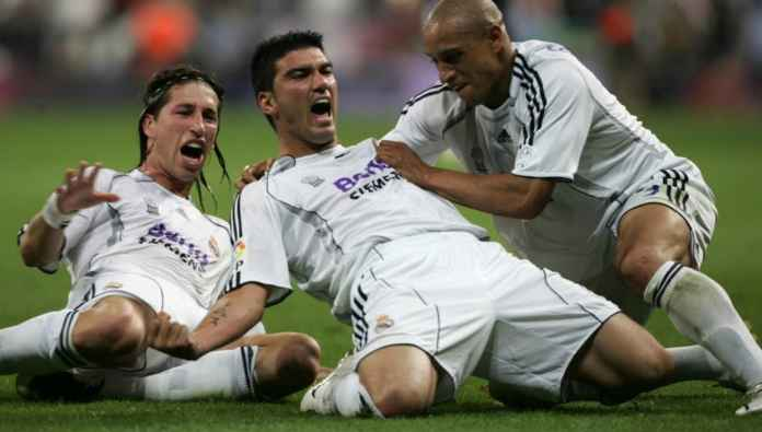 Jose Antonio Reyes saat membela Real Madrid