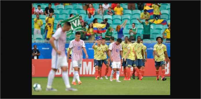 Hasil Kolombia vs Paraguay 1-0, Lolos Juara Grup B di Atas Argentina