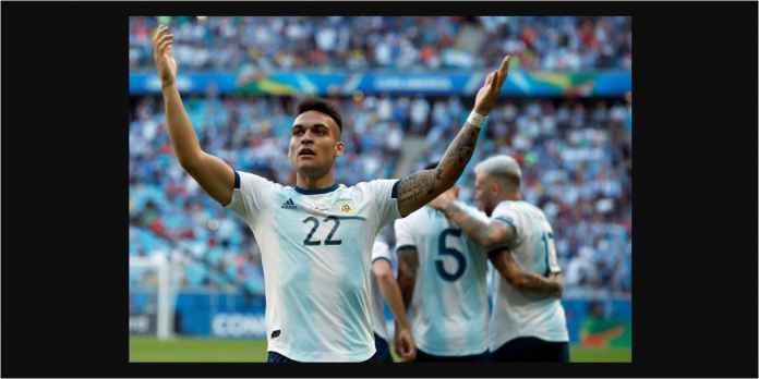Striker Inter Milan Pesaing Mauro Icardi Cetak Gol Argentina