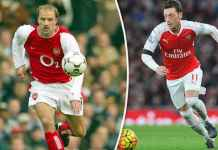 Legenda Arsenal Sarankan Mesut Ozil Tiru Dennis Bergkamp