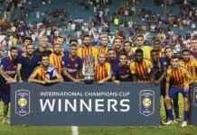 Barcelona Mainkan Tim Utama Kontra Napoli di Amerika