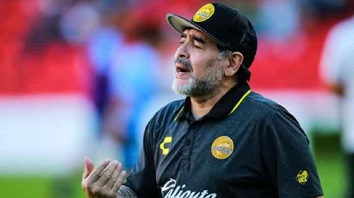 Diego Maradona Tinggalkan Dorados Karena Alasan Kesehatan