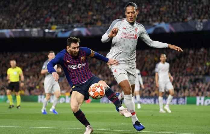 Lionel Messi Ungguli Virgil van Dijk Terkait Ballon d'Or