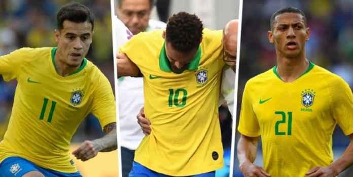 Ini Lineup Timnas Brasil di Copa America Tanpa Neymar