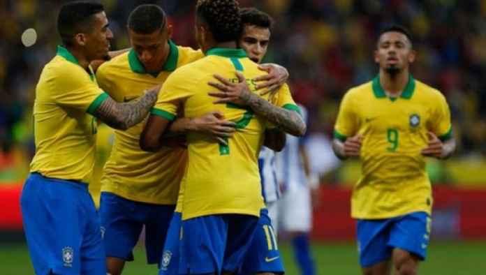 Timnas Brasil Bantai Honduras Jelang Copa America 2019