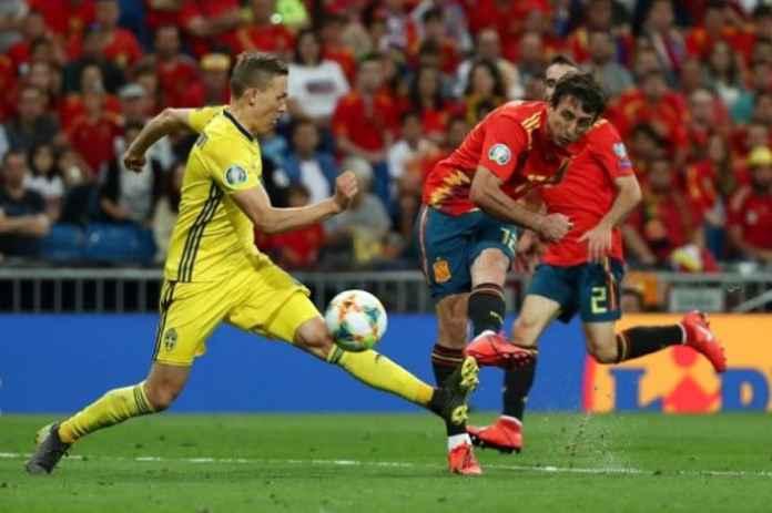 Spanyol vs Swedia: La Roja Kuasai Grup F Kualifikasi Piala Eropa