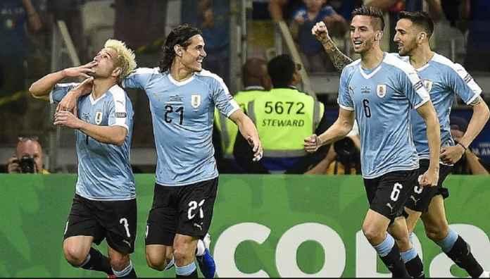 Edinson Cavani Yakin Uruguay Juara Copa America 2019
