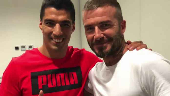 Luis Suarez Diajak Gabung Klub Baru David Beckham