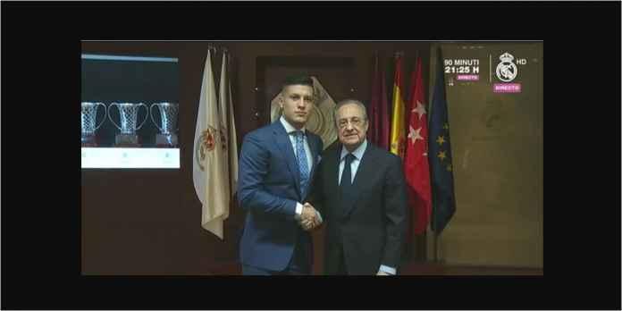 Luka Jovic Diperkenalkan Secara Resmi Oleh Real Madrid