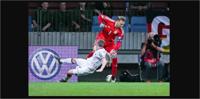 Manuel Neuer Lupa Dia Itu Kiper, Beruntung Jerman Tak Kebobolan