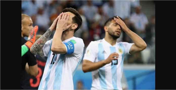 Buruknya Argentina, Hancur Oleh Gol-gol Dua Pemain Pinjaman